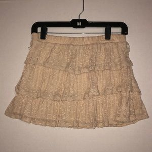 Wet Seal - Ruffle Skirt